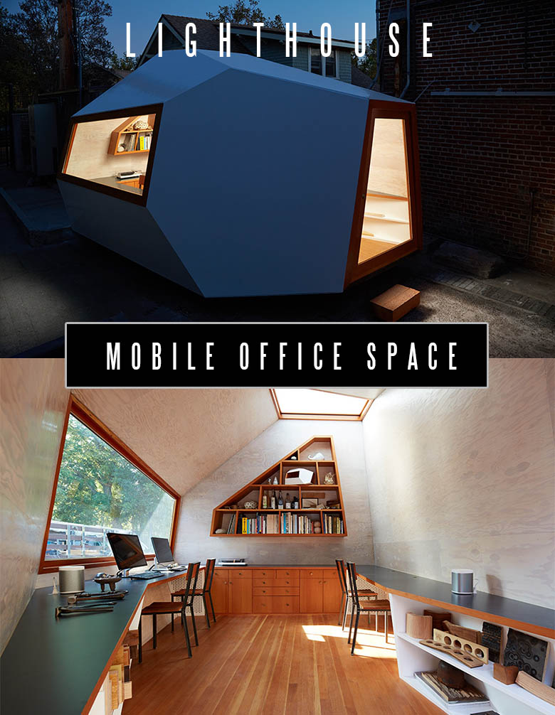 This is a Mobile Office Space made with Structural Insulated Panels. It has a few absolutely awesome advantages over the regular houses. Can it be converted into a tiny house? Read to know...#tinyhouse #tinyhouseplans #minimalism