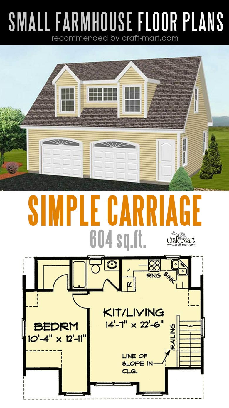 Simple Farmhouse Plan. Designing and building a farmhouse can be a lot of fun! Look at the best small farmhouse plans that can fit almost any tight budget. Learn how you can design the best modern farmhouse and decorate it as a pro! #tinyhouse #farmhouse #rustic #diy