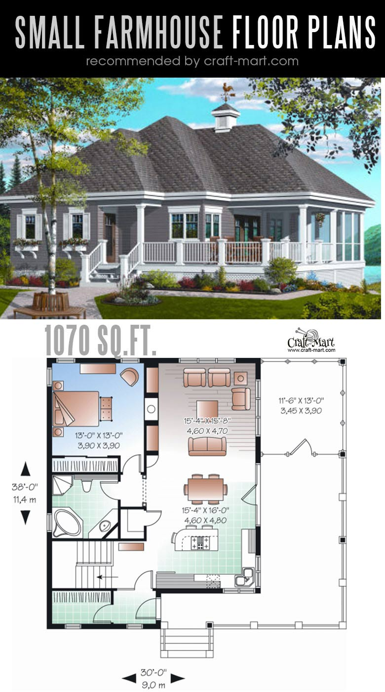 Country classic modern farmhouse plan