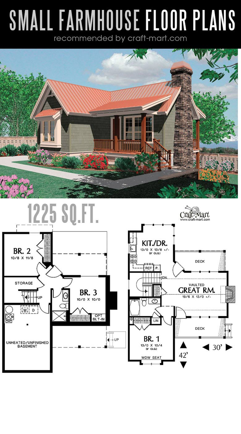 Small Modern Farmhouse Plans For Building A Home Of Your