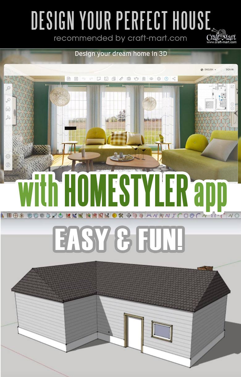 Design your small farmhouse plans with these free and easy mobile app!Learn how you can design the best modern farmhouse and decorate it as a pro!