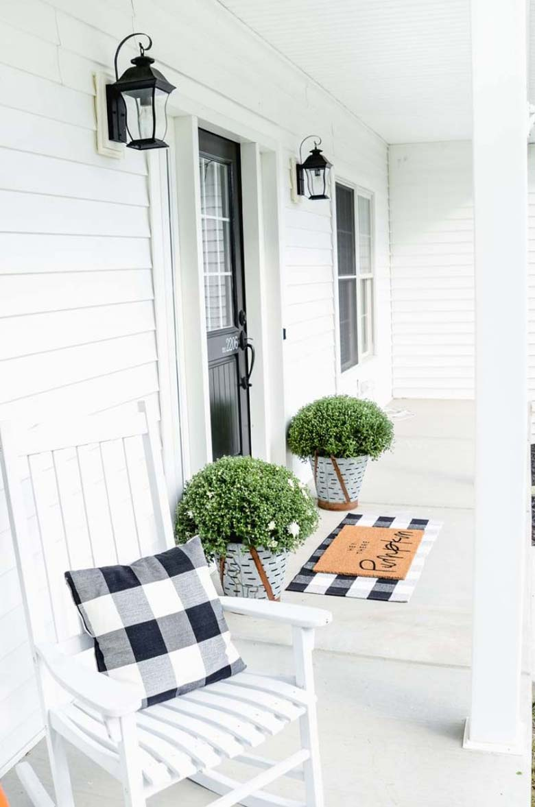 Small Front Porch Decorating Ideas Craft Mart