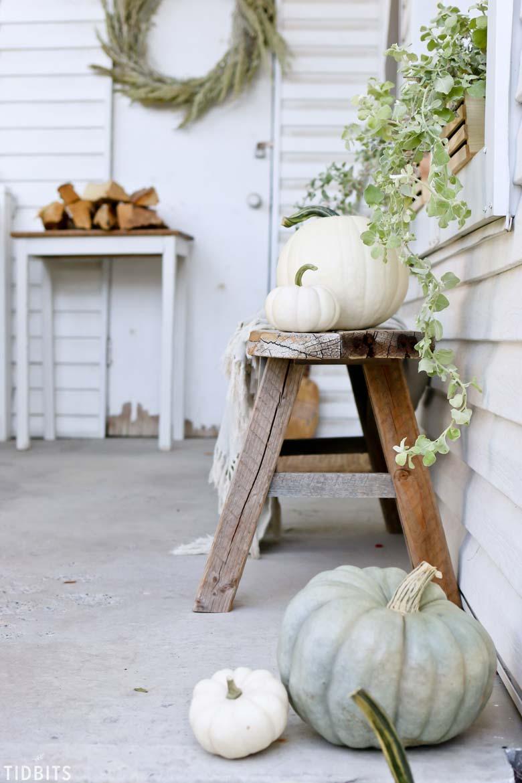 old farmhouse charm fall decor