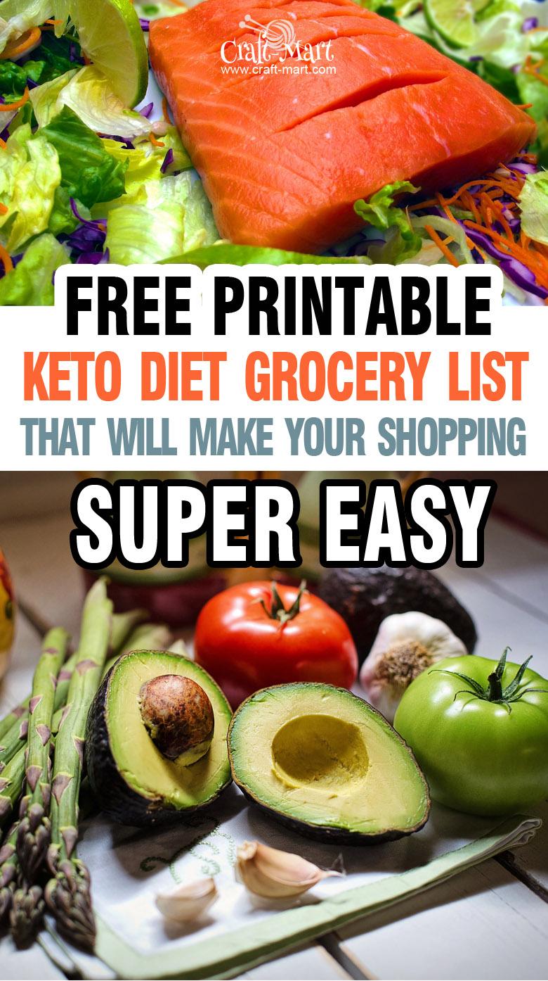 Free Printable low carb food list #ketodiet #ketoslowcookerdinnerrecipes #ketocrockpotrecipes #ketodinnerrecipes #ketobeefdinner #ketocrockpotbeefrecipe #ketoslowcookerdinner