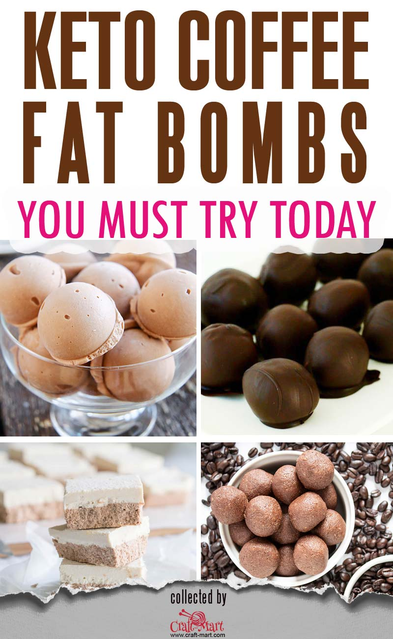 Keto Coffee Fat Bombs (and ultimate collection of 55+ keto snacks) #ketofatbombs #ketodiet #easyfatbombrecipes #bestfatbombrecipes #highfatlowcarbsnacks #lowcarbsnack #ketosnack #savoryketobomb #easiestsavoryfatbomb #ketocoffeefatbomb #energyketofatbombs #bulletproofcoffeefatbomb #mochafatbombs