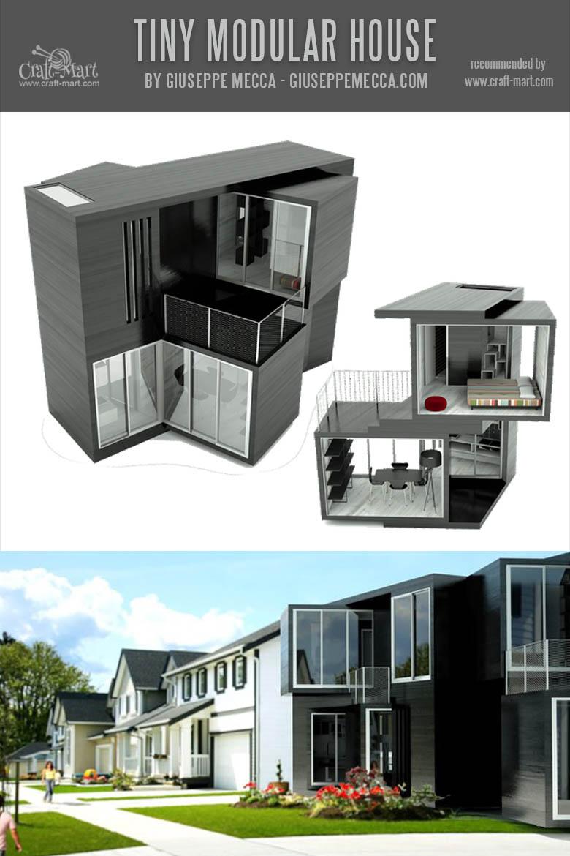 Tiny prefab house
