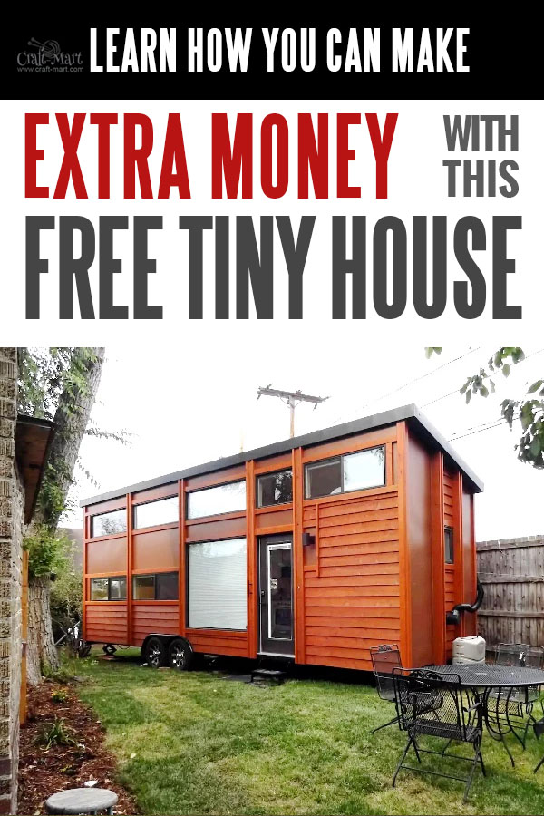"Look at these cute tiny house trailers with easy financing starting from $195/m! Forbes Magazine called them ""The Most Beautiful Tiny Houses In The World"". Do you have a yard space for one of these tiny houses? Get one for FREE and start earning money from renting it! Read about this rental program. #tinyhouse #tinyhouseplans #minimalism"