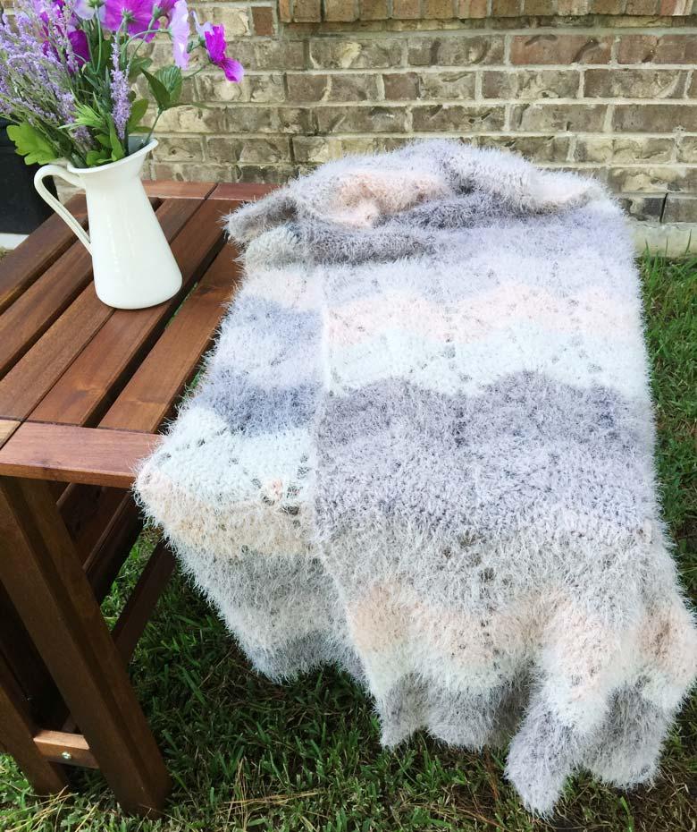 Easy Crochet Scarf (Free Pattern) - Craft-Mart
