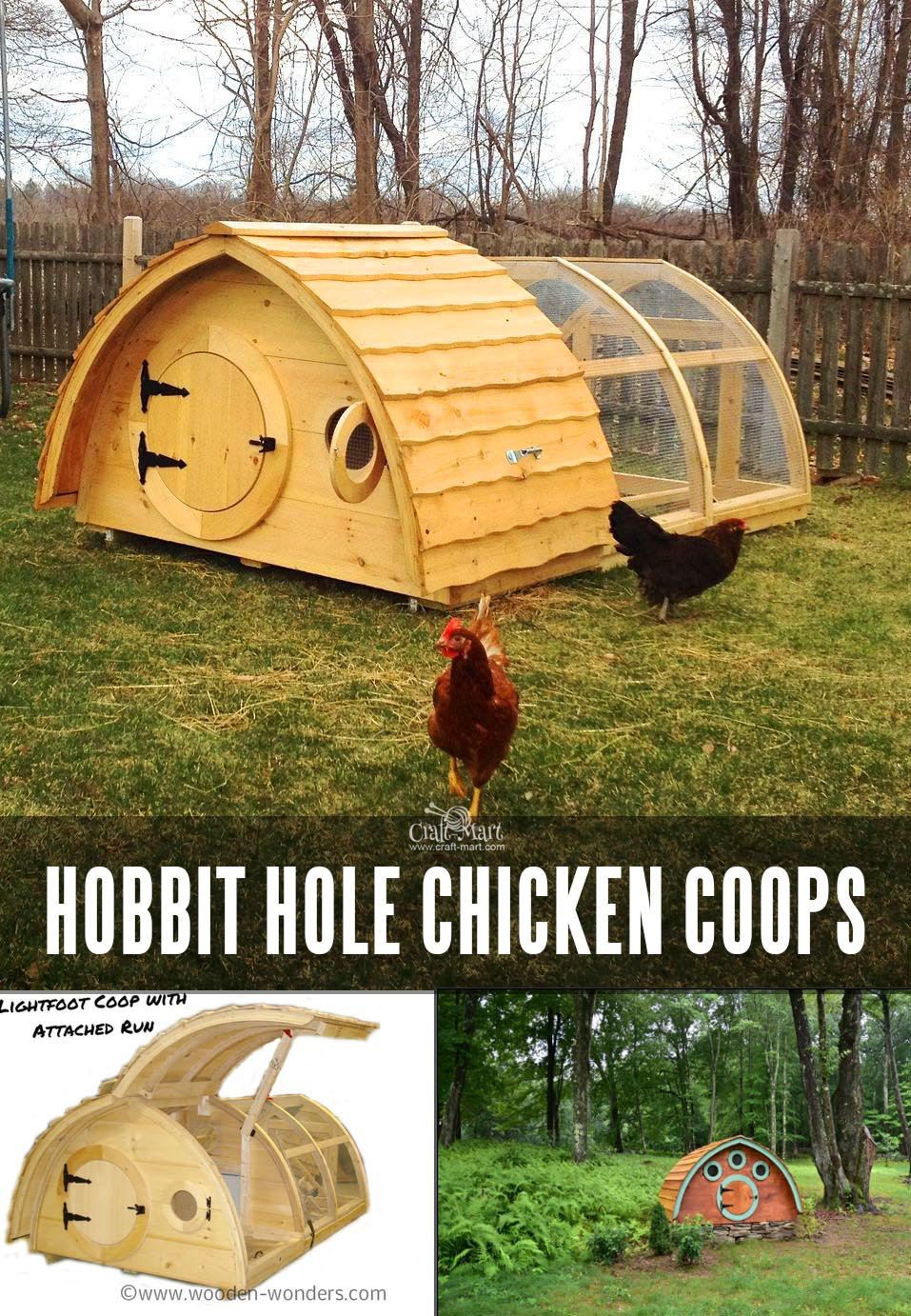Hobbit-Style Living for Chicks - Hobbit Hole Chicken Coops