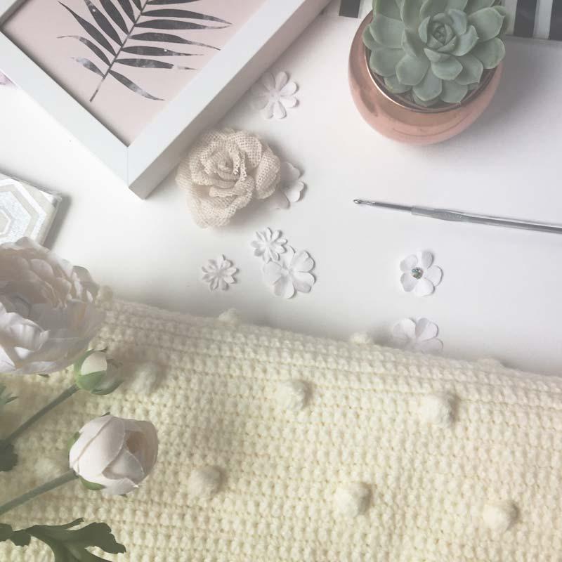 Caroline Crochet Baby Blanket Easy Crochet Blanket Tutorial