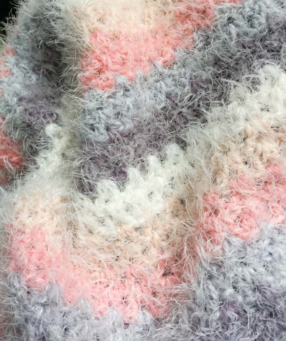 Learn how to Crochet V-stitch blanket with easy beginner crochet pattern, learn to crochet v stitch, easy crochet stitch for blankets, how to crochet step by step #freecrochetpattern #caroncakespattern #caronlattercakesyarn, #crochetvstitch #howtocrochetstepbystep #toddlerblanket #basiccrochetstitch