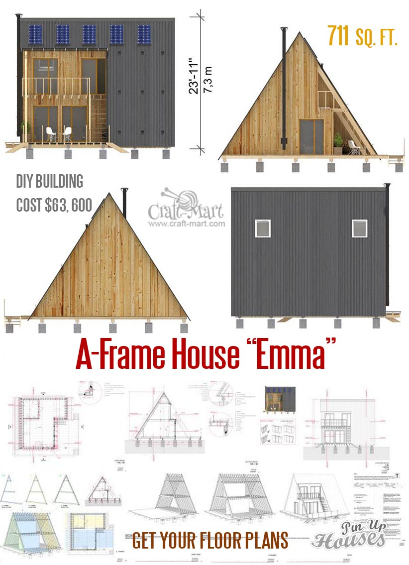 Awesome small house plans under 1000 Sq  Ft  (Cabins, Sheds
