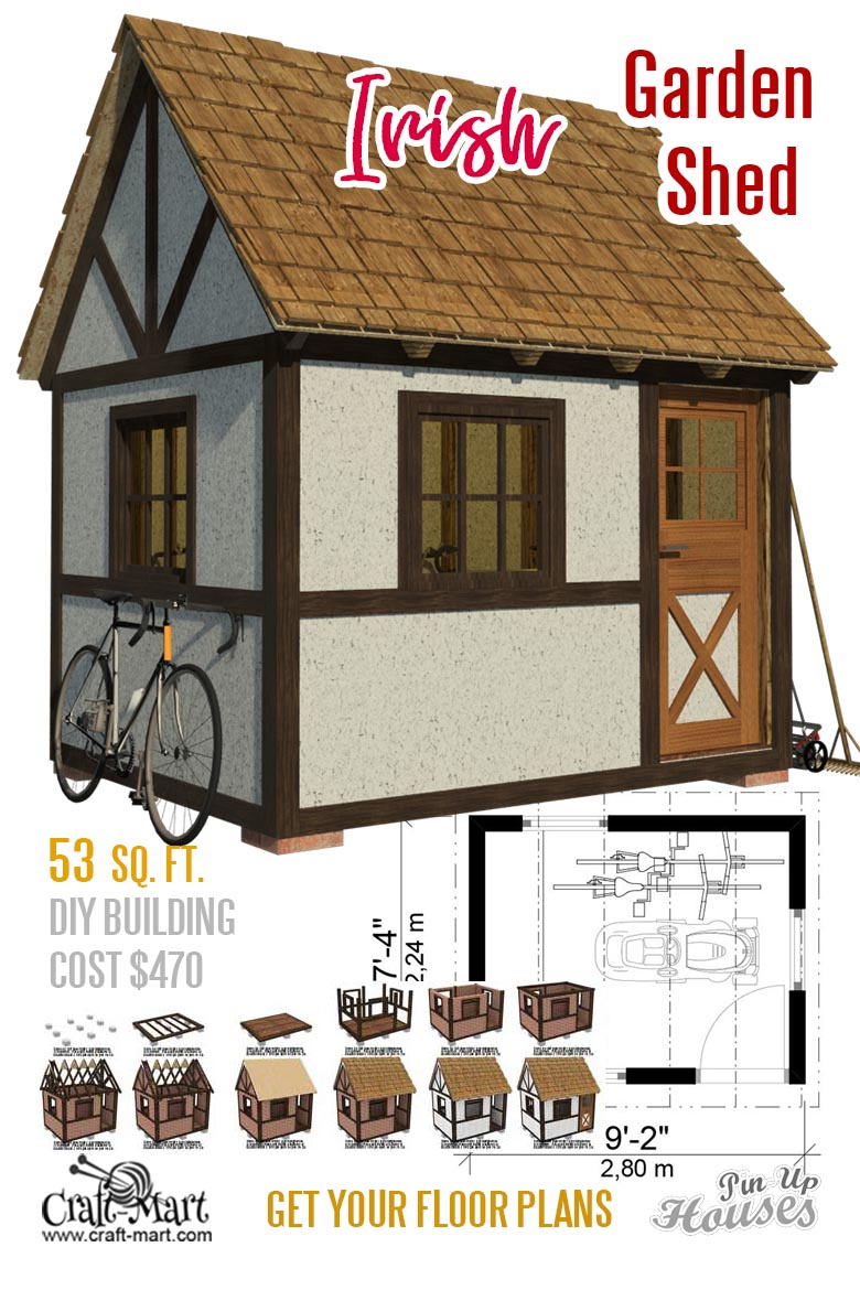 Backyard Shed Cabin Floor Plans