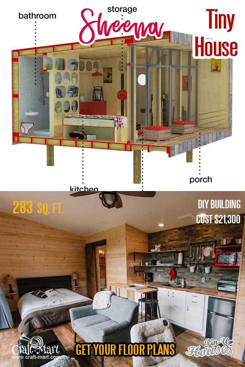 unique Small House Plans - Sheena