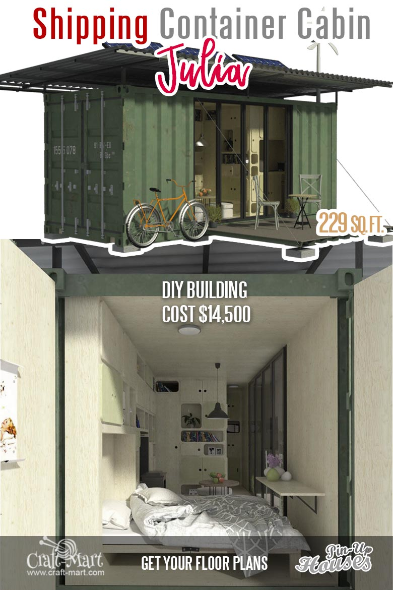 The strongest feature of the proposed design of this particular container house is its structural integrity. It looks like a pretty solid container with most of the metal wall intact. But are there any cons to living in a metal container? Read this... #tinyhouse