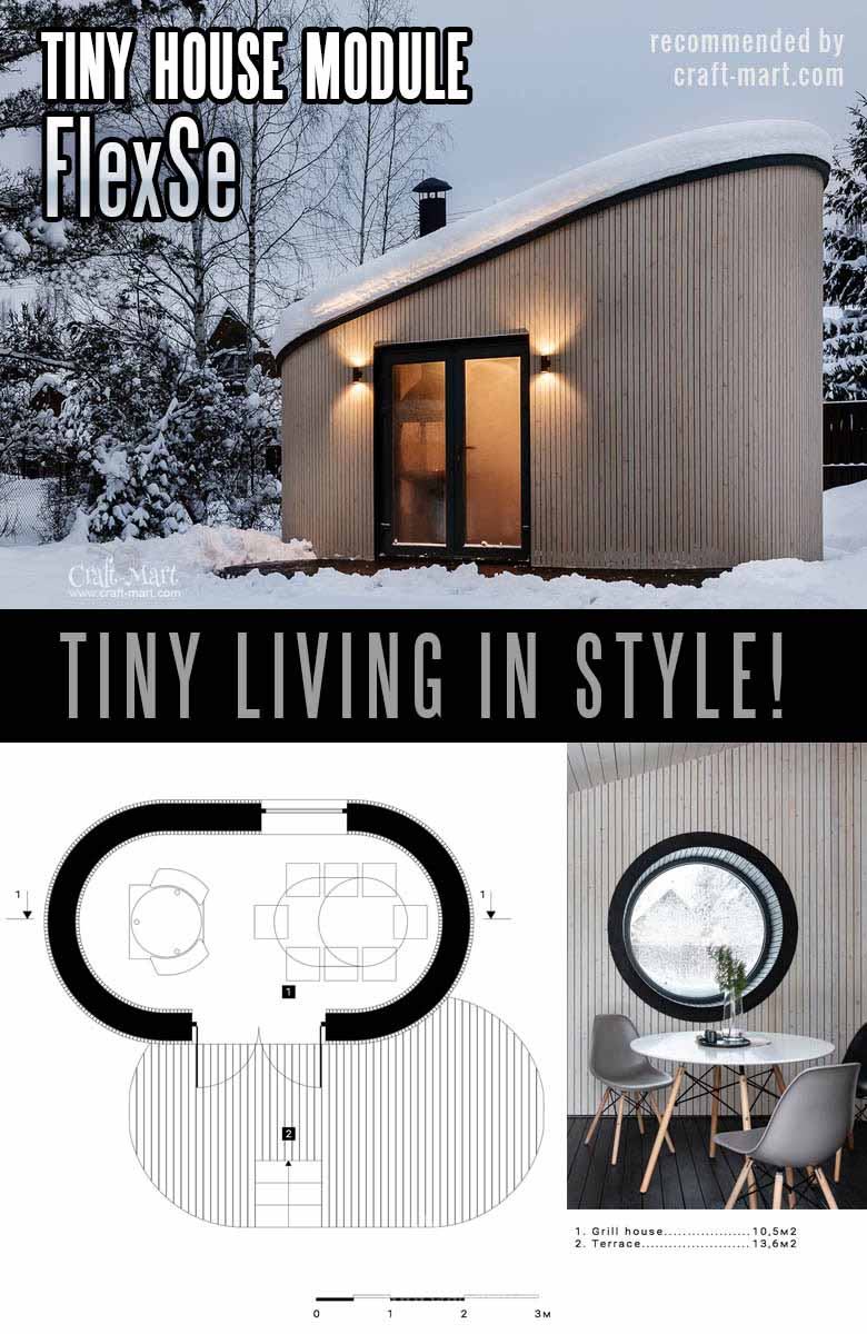 multi-purpose modular tiny home