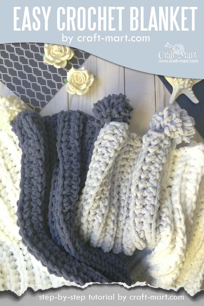 Simple And Easy Crochet Blanket Tutorial Free Bernat Blanket Yarn Pattern Craft Mart