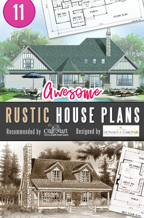 Small rustic farmhouse plans