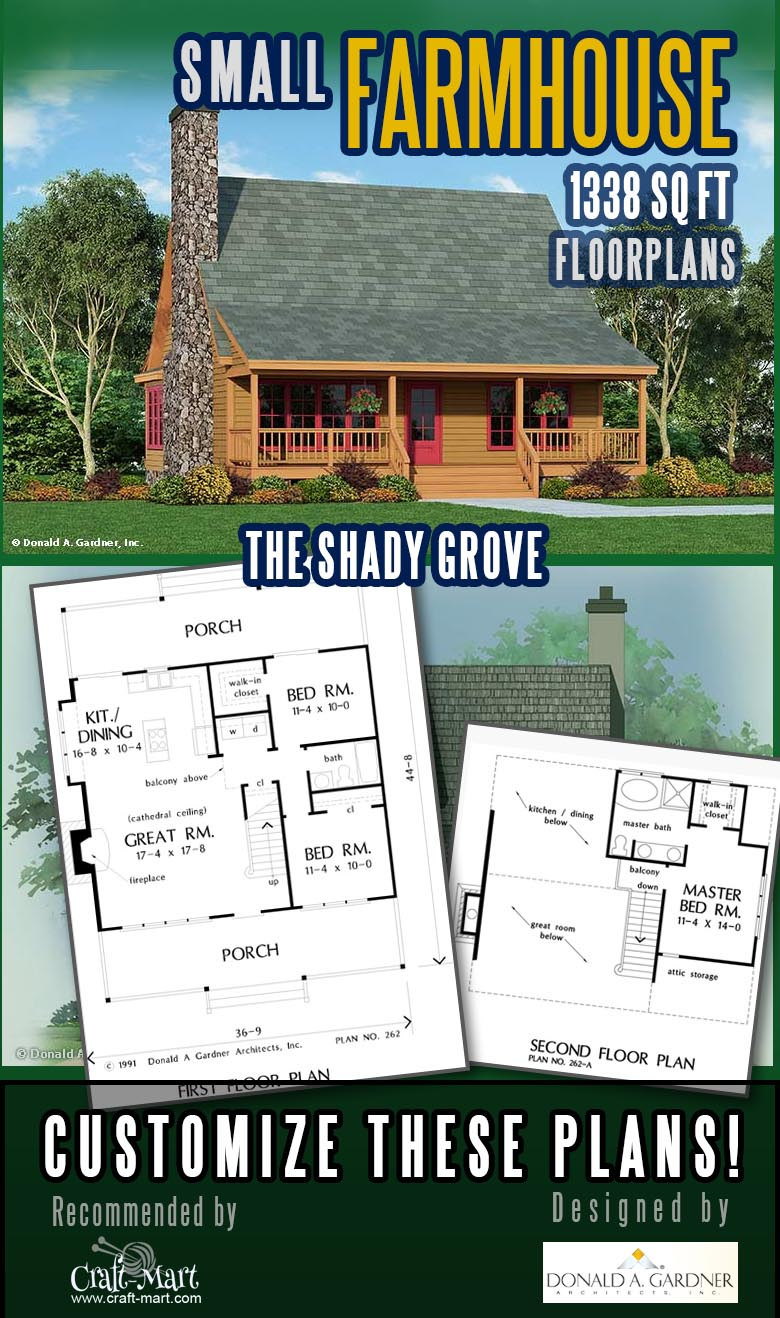 Rustic home plan