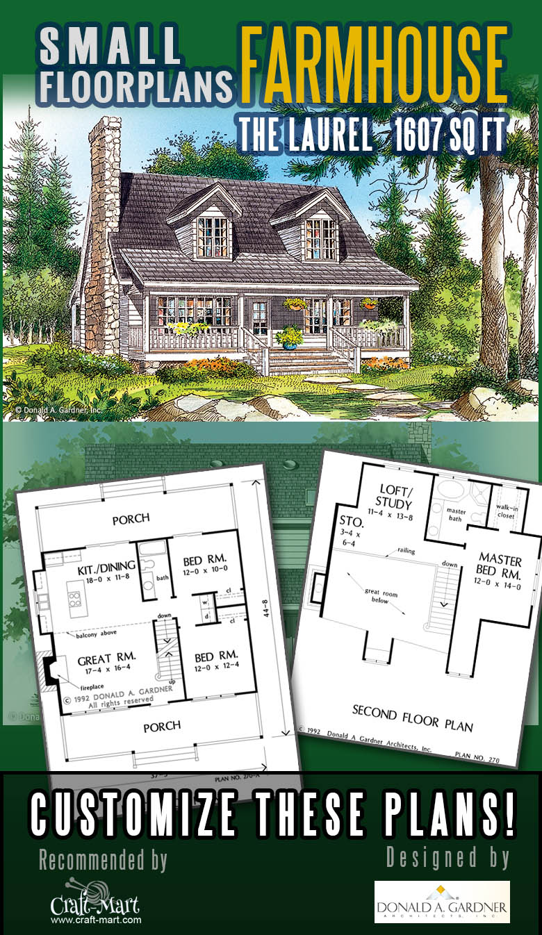 Rustic home floor plan