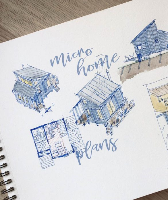 Adorable micro home plans and designs for fun weekend projects