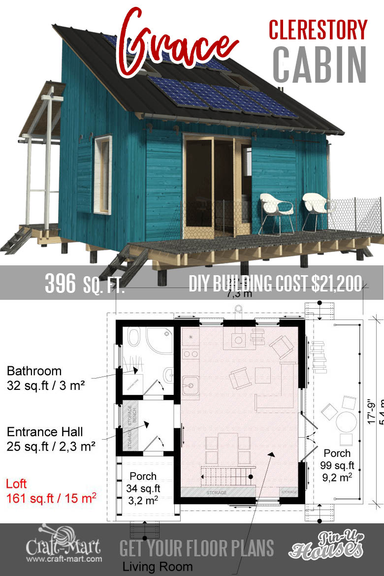 tiny house plans with loft