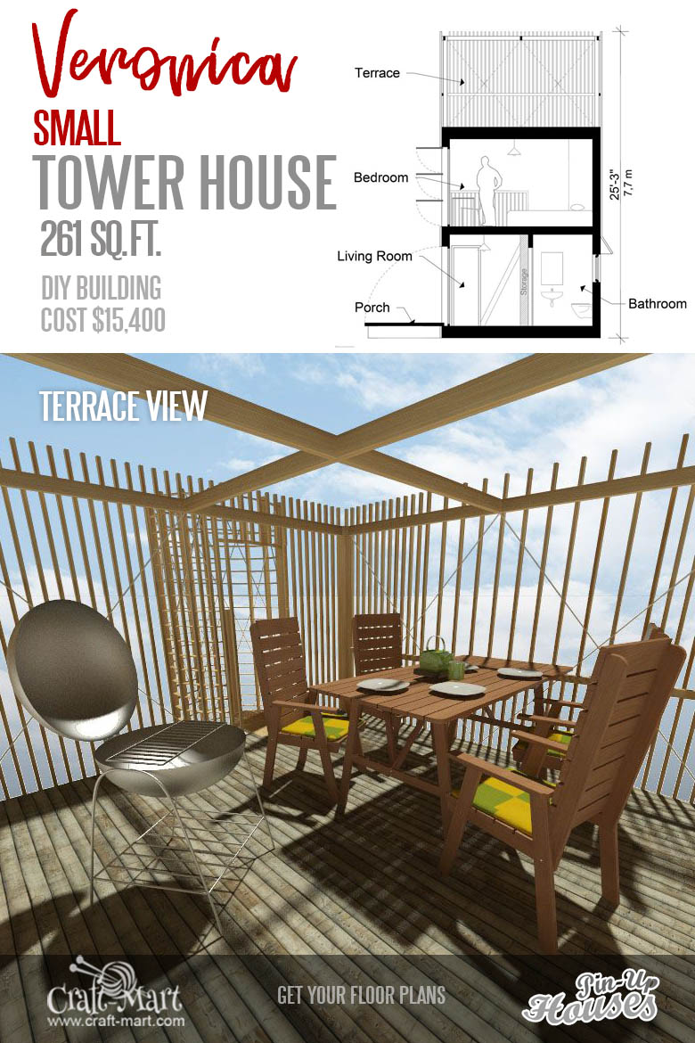 tiny house plans with patio