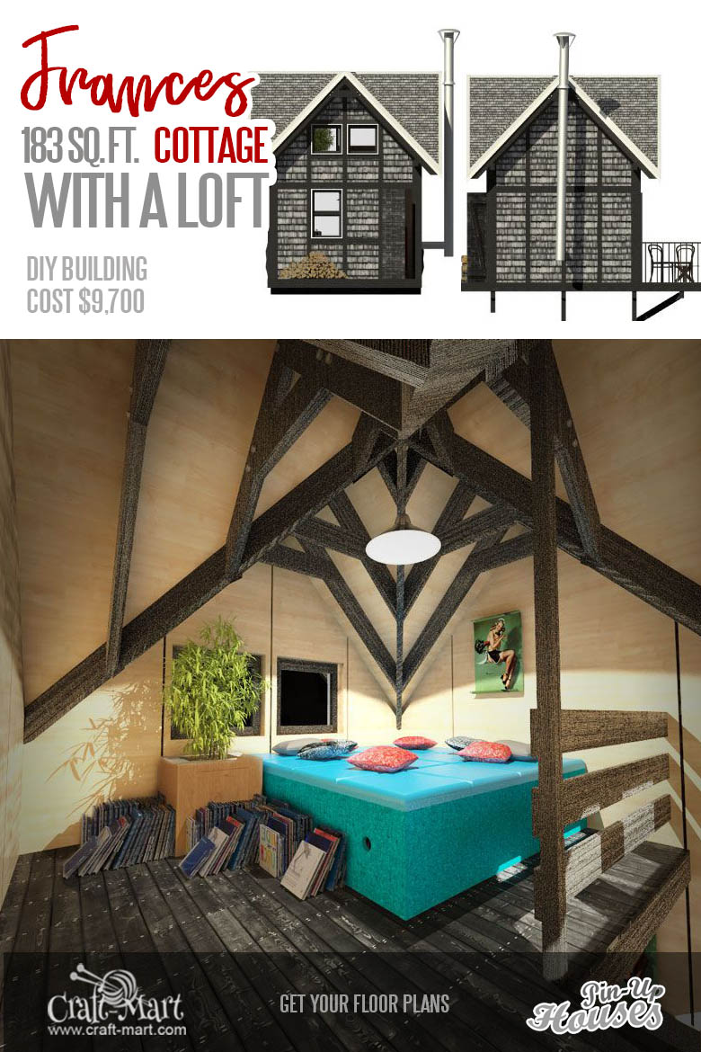 tiny home plans with a loft