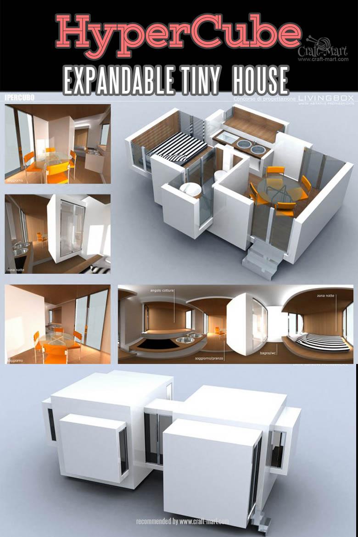 HyperCube Expandable modern modular Tiny House