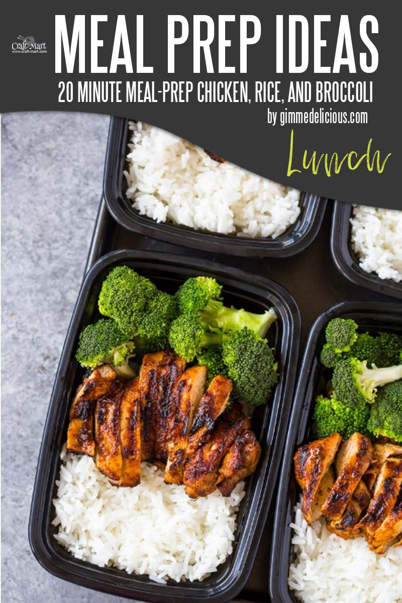 Easy and Healthy Lunch Meal Prep Ideas that will save you time and money - This is one of the easiest and simplest meal prep recipes that you can cook in 20 minutes. It is a life-saver for busy moms who want healthy meals but don't want to spend their whole Sunday doing meal prep for a week. #easymealprepideas #healthymealprep #mealprep #mealpreplunch