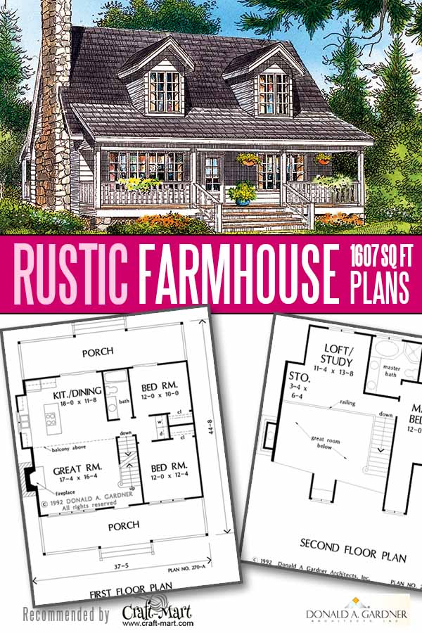 Small Rustic house floor plan