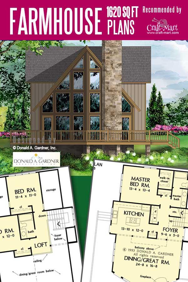 2-story farmhouse plans Overlea