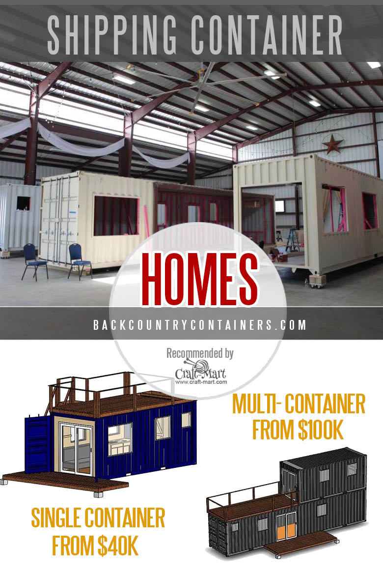 Backcountry Containers and homes - containerized homes from texas