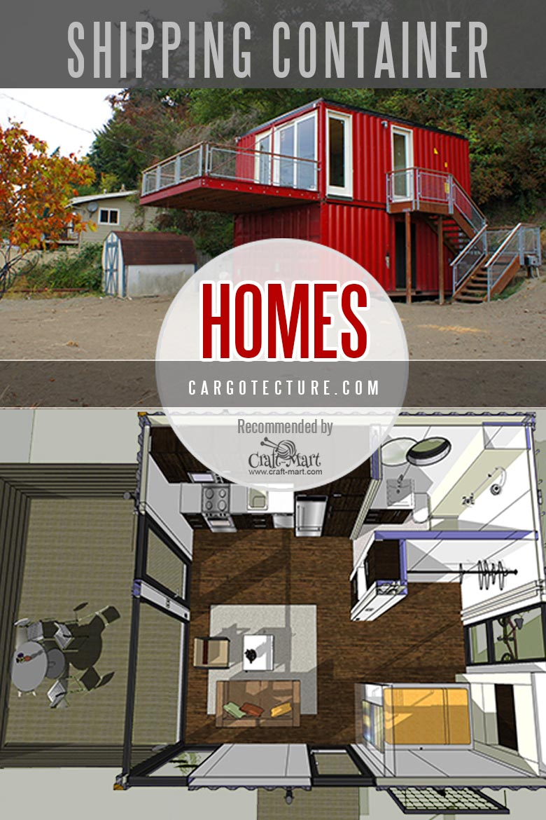 Shipping container homes by Cargotechture