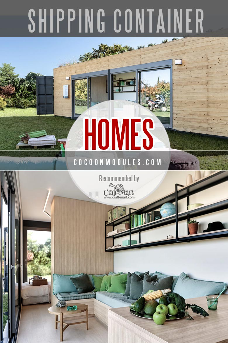 Shipping container home builder in Greece Cocoon Modules