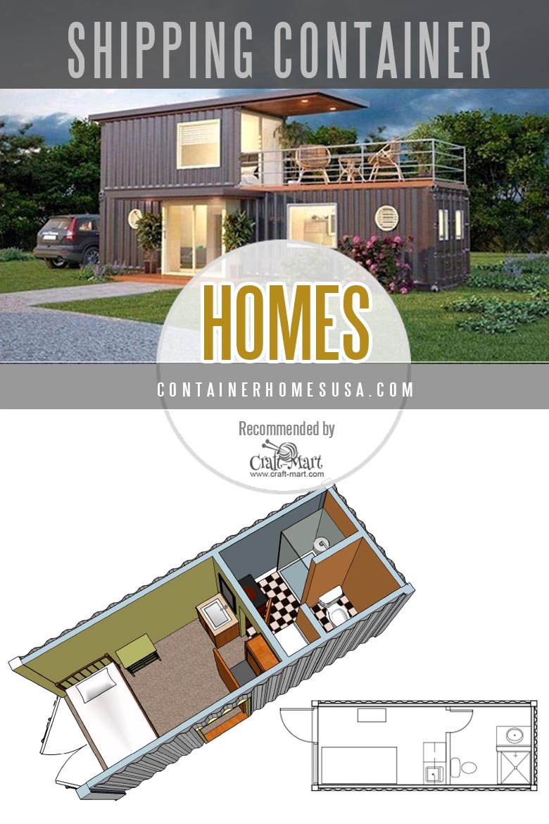 Container Homes USA models