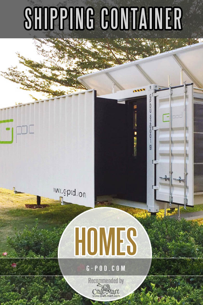 G-POD shipping container homes
