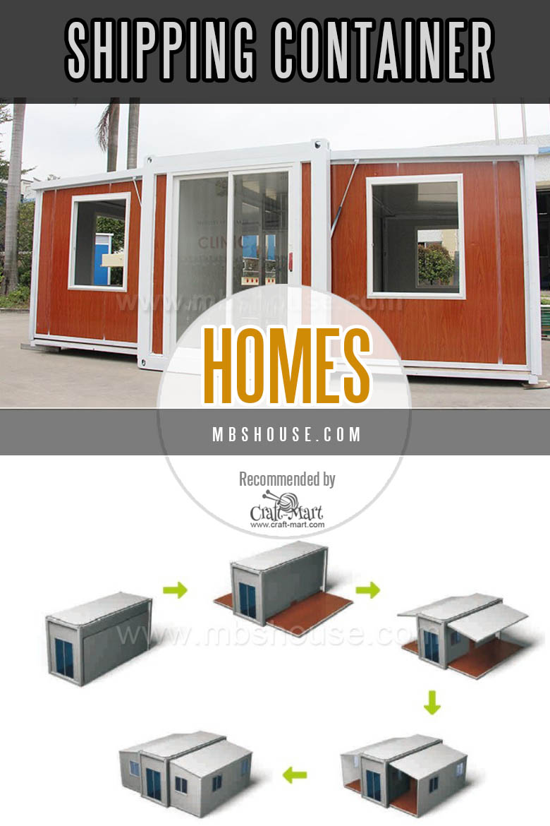 Expandable containerized homes from China
