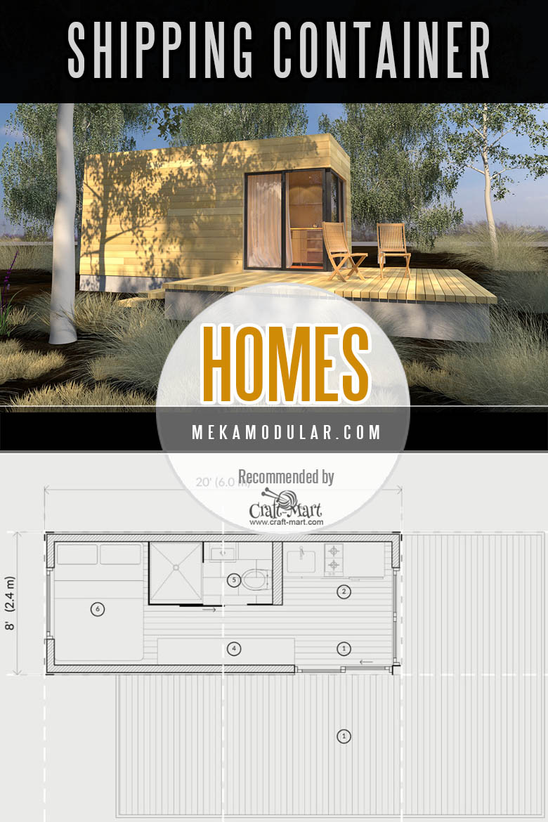 Meka Modular shipping container homes