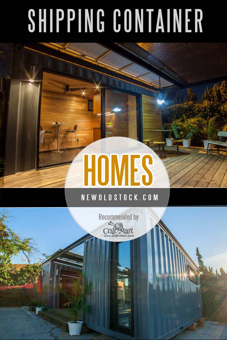 "Containerized homes by ""new old stock"" company"