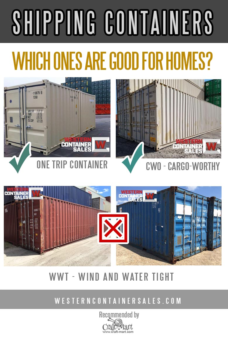 diy container home - grades of shipping containers and shipping container modification kits