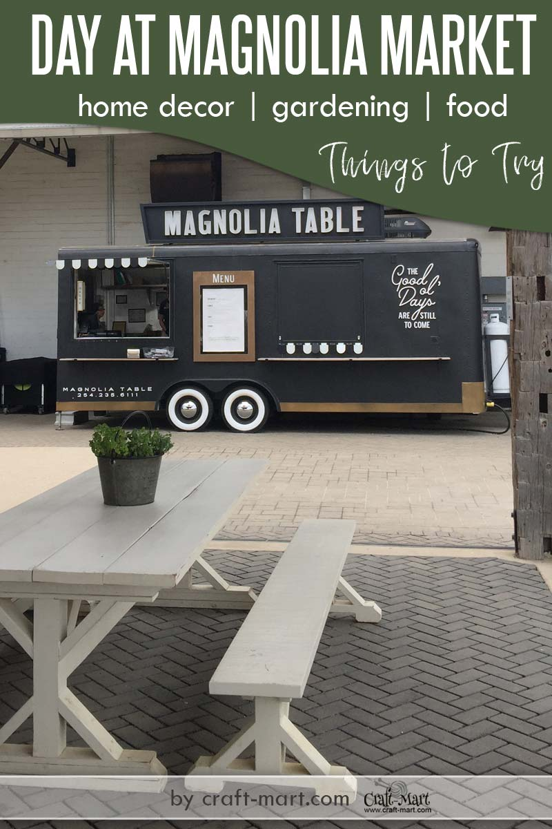 Visiting Magnolia Market Silos - Tips, Things to Try, and Enjoy. Learn how to plan a trip to Magnolia Market, visit Magnolia Silos Bakery, savor Magnolia Table menu, enjoy Magnolia Garden, and score some great modern farmhouse finds at the Magnolia Market Warehouse. #magnoliamarketsilos #milestomagnoliamarket #triptomagnoliamarketsilos #thingstodoinwacotx #magnoliatable