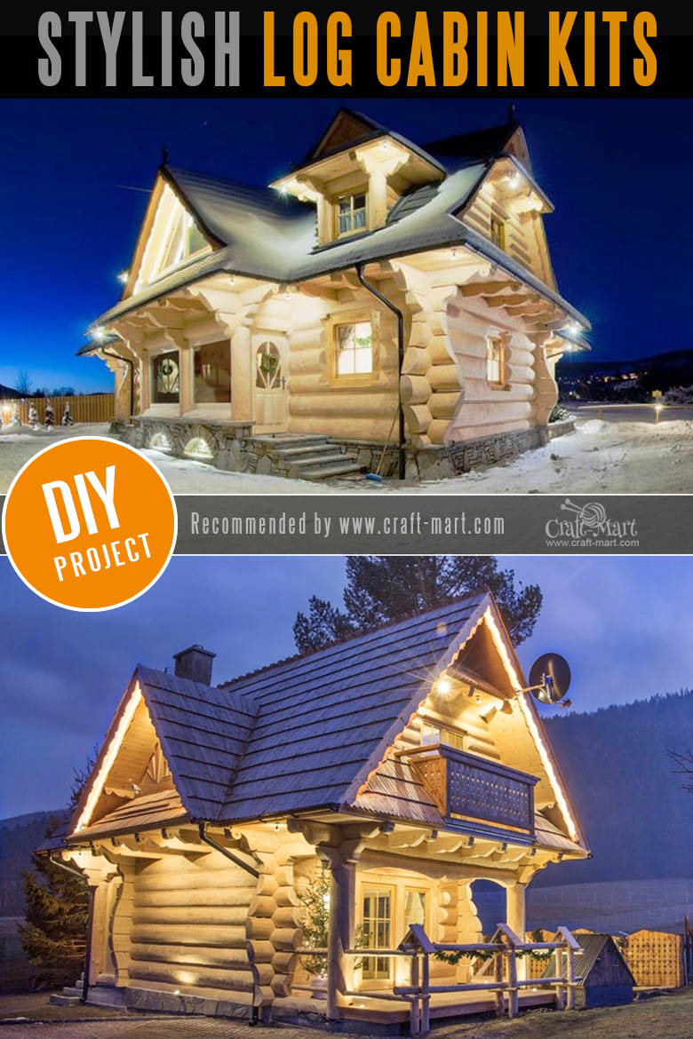 log cabin homes by The Little Log House Company