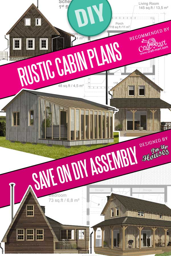 small rustic cabin plans