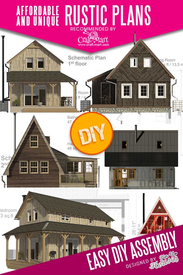 small farmhouse floor plans for DIY projects