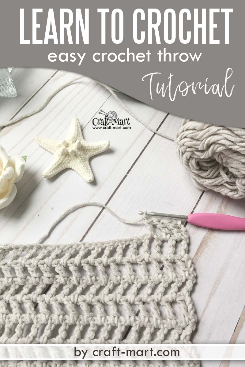 Free Crochet Throw Pattern - Craft-Mart