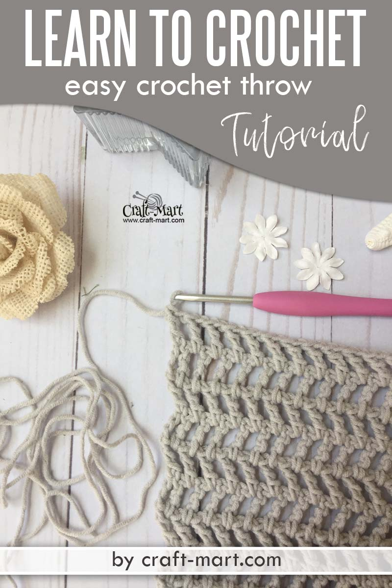 Learn to crochet an easy throw with this unique crochet pattern using popular Caron Cotton Cakes yarn. Crochet blanket tutorial for beginners. #freecrochetthrowpatterns #easycrochetblankettutorial