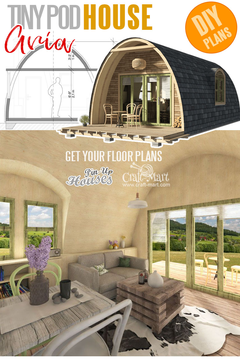 home plans with cost to build - Pod House Plans Aria