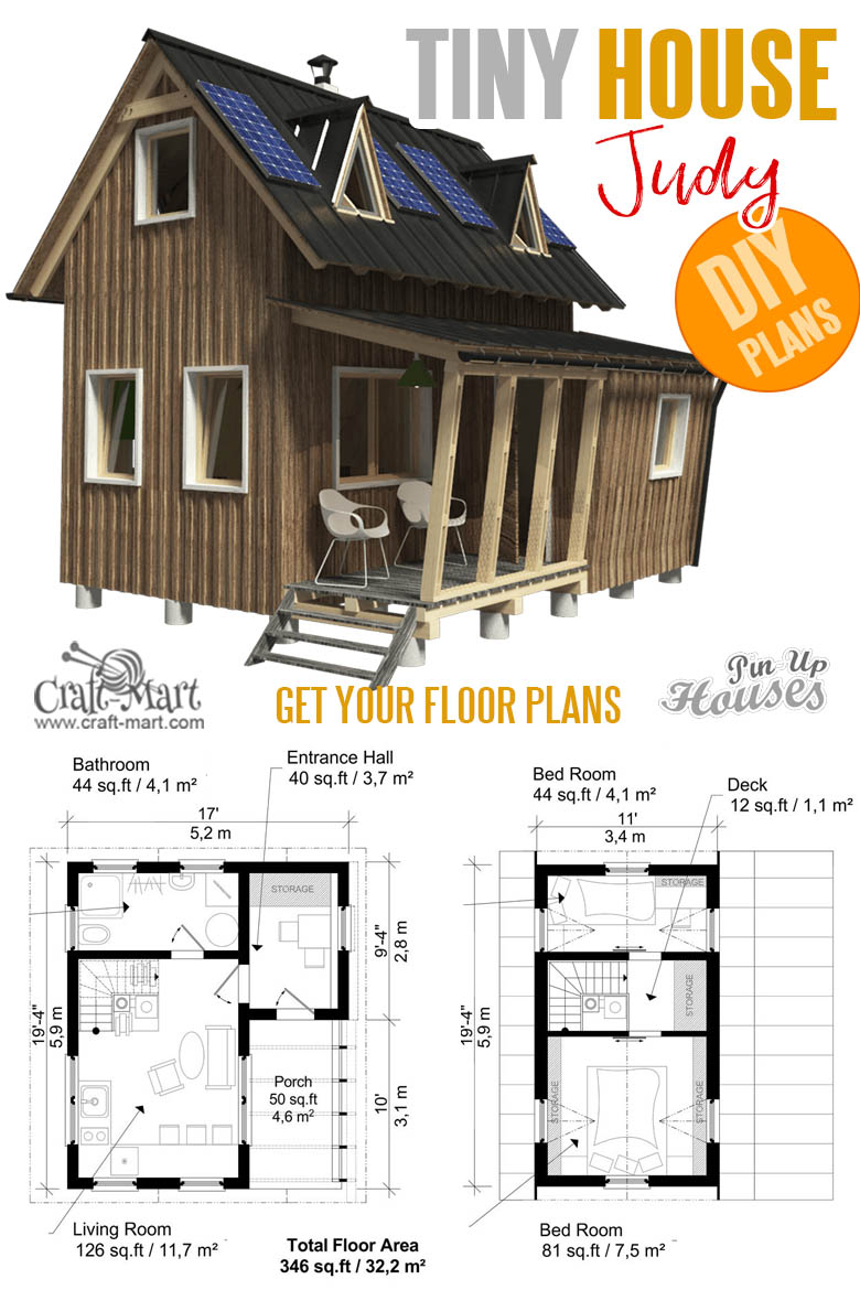 Tiny home plans with cost to build - Small Two Story House Plans Judy