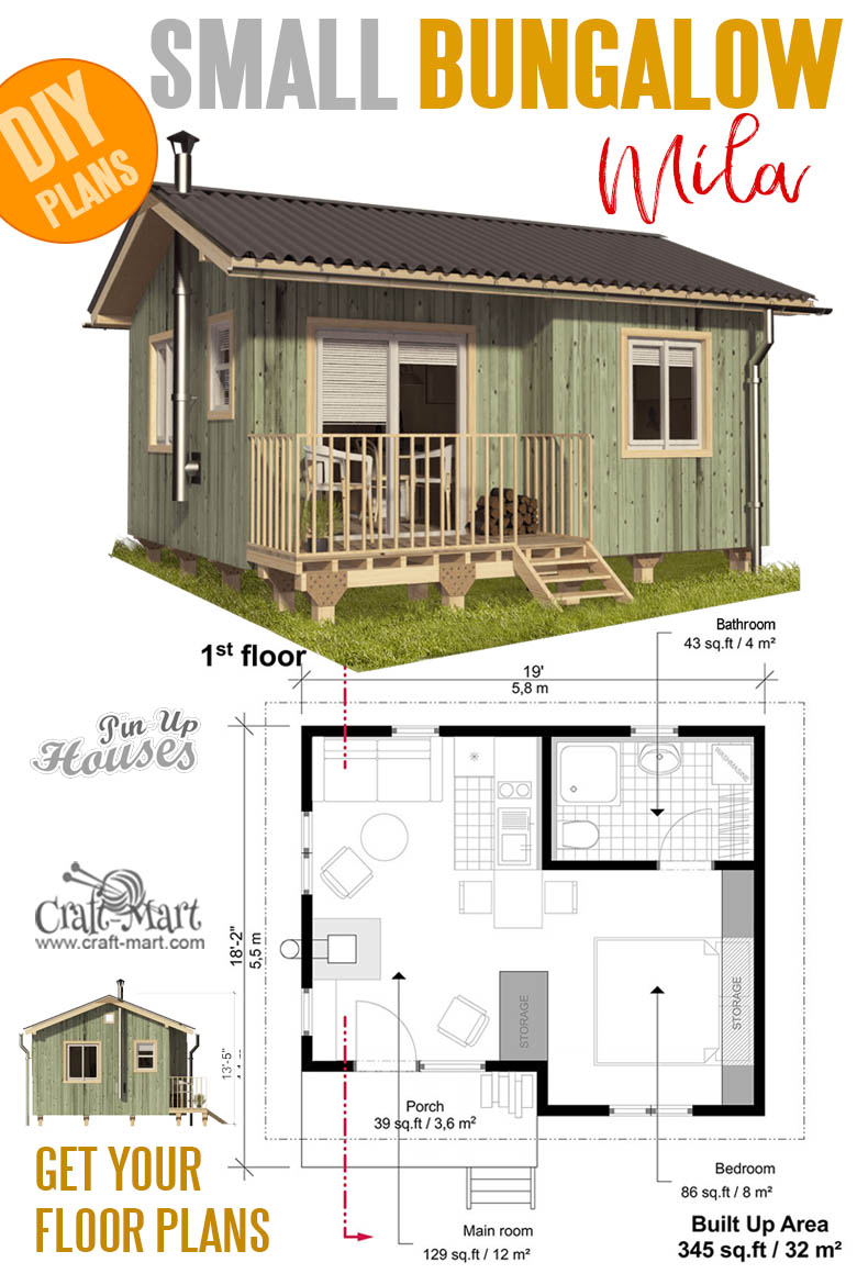 16 Cutest Small And Tiny Home Plans With Cost To Build